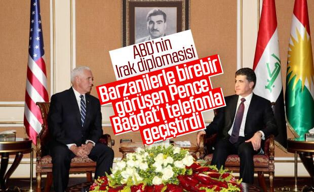 ABD Başkan Yardımcısı, Irak ziyaretinde Bağdat'a gitmedi