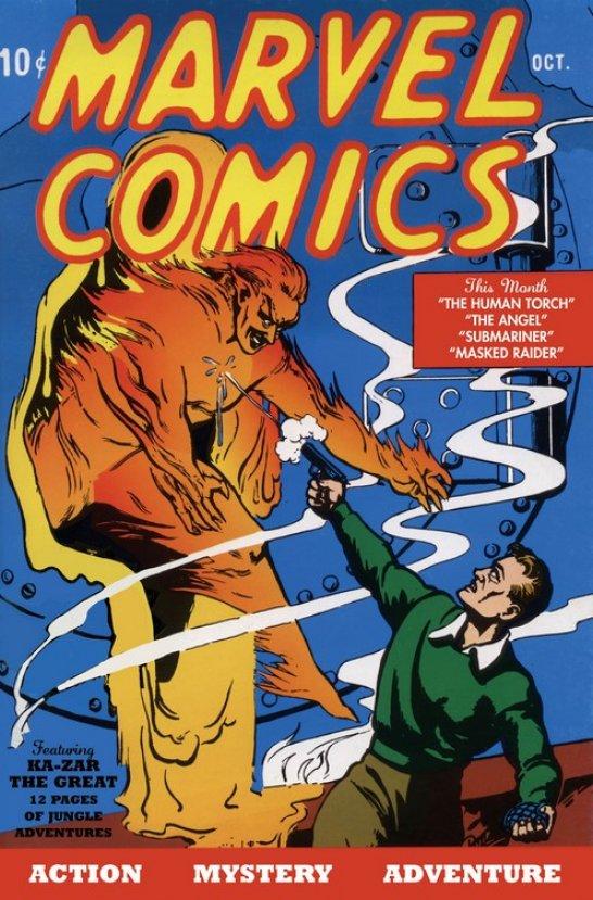Marvel'in ilk çizgi romanına 1.26 milyon dolar