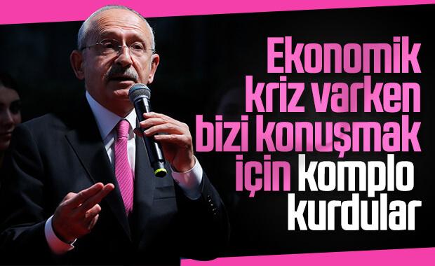 Kılıçdaroğlu bir kez daha CHP'ye komployu savundu