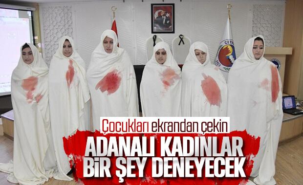 Adanalı kadınlardan şiddete karşı etkinlik