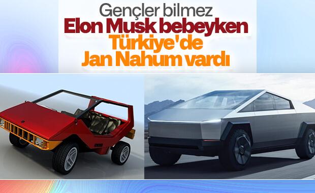 Tesla Cybertruck'ın Anadol Böcek'e benzeyen tasarımı
