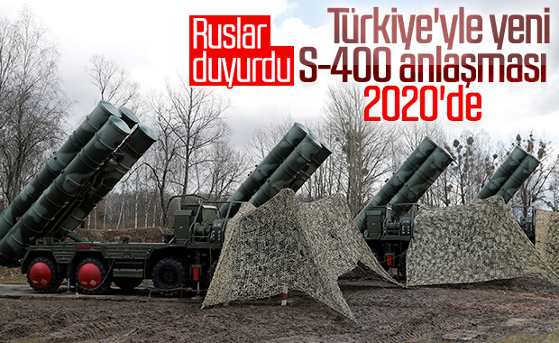 Rusya, 2020'de yeni S-400'ün sinyalini verdi
