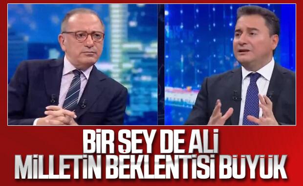 Yeni parti kuracak olan Ali Babacan'dan açıklamalar