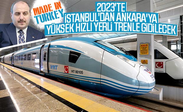 Bakan Varank: Milli YHT prototipi 2023'te raylarda olacak