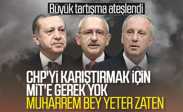 Cumhurbaşkanı Erdoğan'dan CHP'ye sert cevap