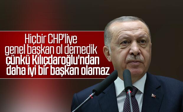 Erdoğan AK Parti Grup Toplantısı'nda