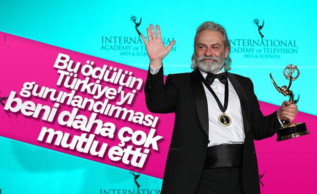 Haluk Bilginer: Türkiye'yi mutlu etmekten çok mutluyum