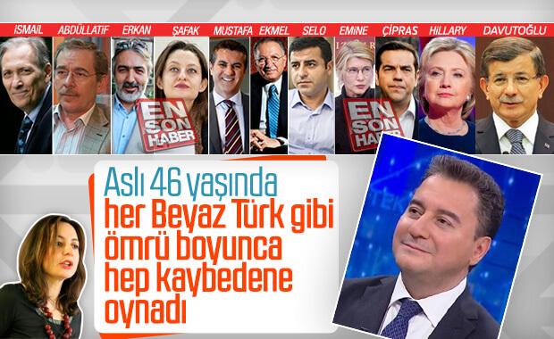 Aslı Aydıntaşbaş, Ali Babacan'ı gazlıyor