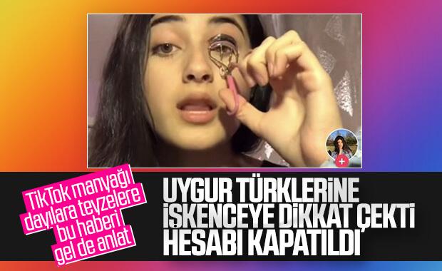 Çinli TikTok'tan Uygur Türkleri sansürü