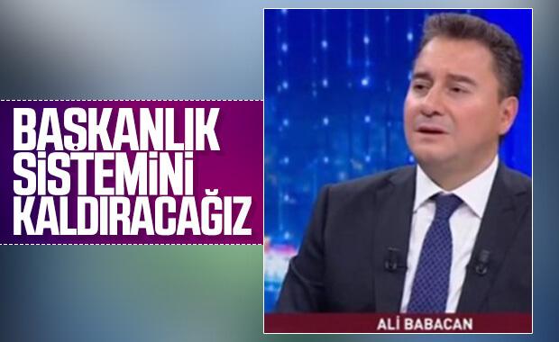 Ali Babacan: Meclis gücünü kaybetmiş durumda