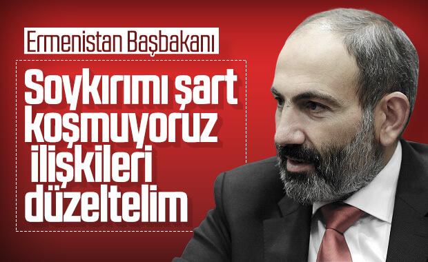 Ermenistan Başbakanı ilişkiler düzelsin diyor