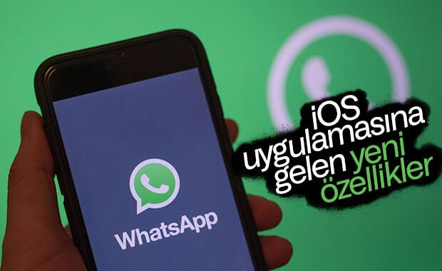 WhatsApp'ın iOS uygulamasına yeni özellikler eklendi