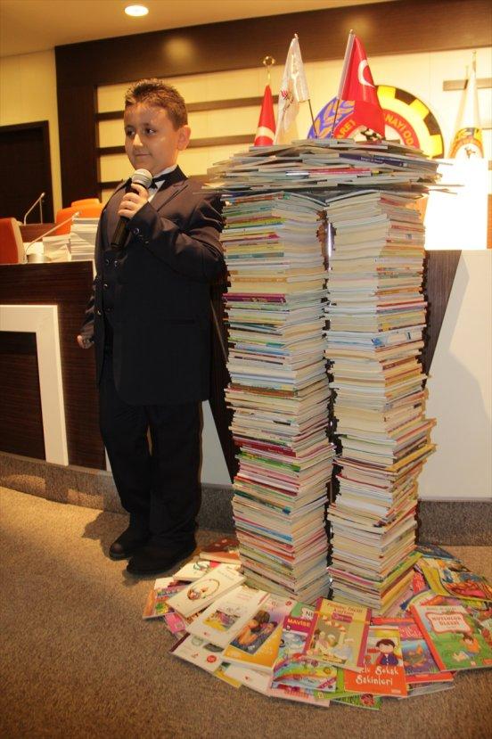 8 yaşında Guinness Rekorlar Kitabı'na girdi