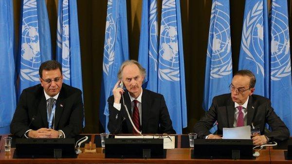 Esad rejimi, Cenevre'de Türkiye'nin kınanmasında ısrarlı