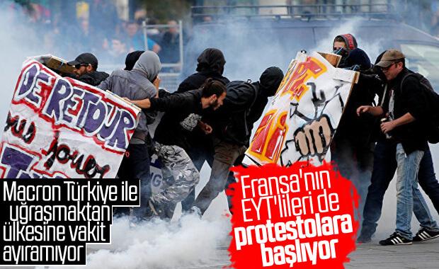 Fransızlar emeklilik reformuna karşı greve hazırlanıyor