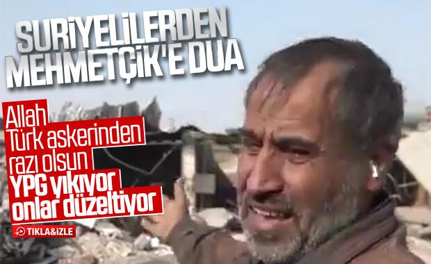 Resulayn halkından YPG/PKK'ya lanet