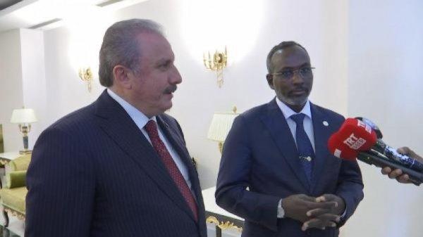 Şentop, Cibuti 2. Abdülhamid Han Camisi'ni açtı