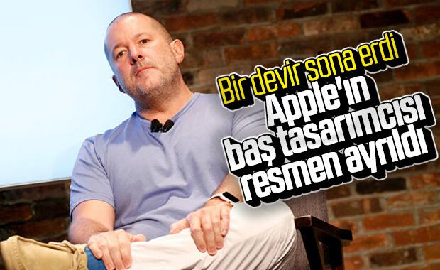 Apple'ın baş tasarımcısı Jony Ive görevinden resmen ayrıldı