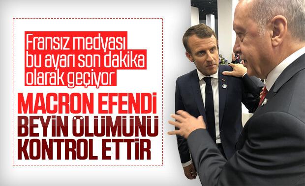 Erdoğan'dan Macron'un küstah açıklamasına sert yanıt