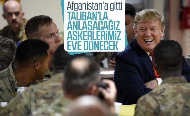 Trump Taliban ile görüşmeye başladıklarını ifade etti