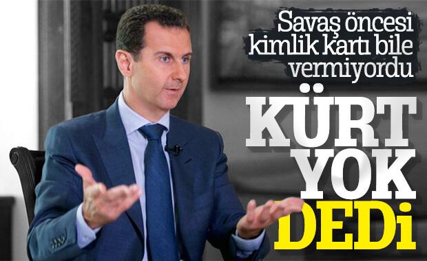 Esad'ın açıklaması Kürtleri kızdırdı