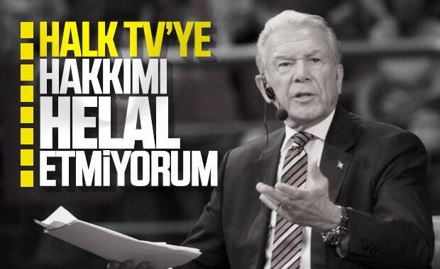 Uğur Dündar'dan Halk TV'ye: Hakkımı helal etmiyorum