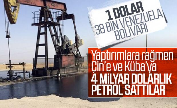Venezuela yaptırımlara rağmen 4 milyar dolarlık petrol sattı