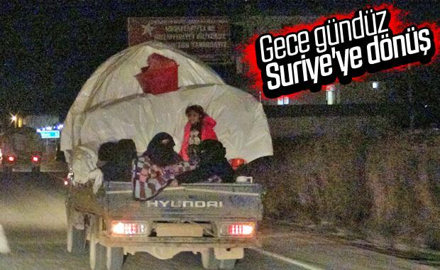 Suriye'ye dönüşler devam ediyor
