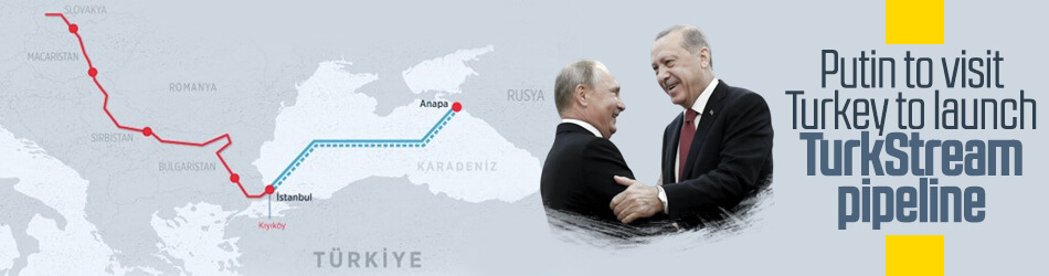 Russian President to visit Turkey to launch TurkStream pipeline