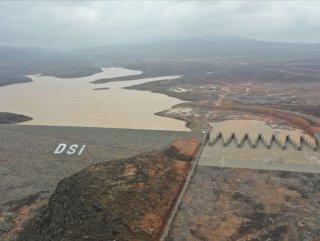 Cibuti'yi sel felaketinden koruyacak baraj #1
