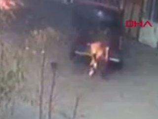 Uşaklı işçi sobayı tutuşturmak isterken kendini yaktı #1