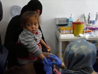 Tel Abyad Hastanesi şifa dağıtıyor #1