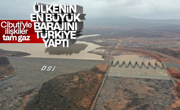 Cibuti'yi sel felaketinden koruyacak baraj