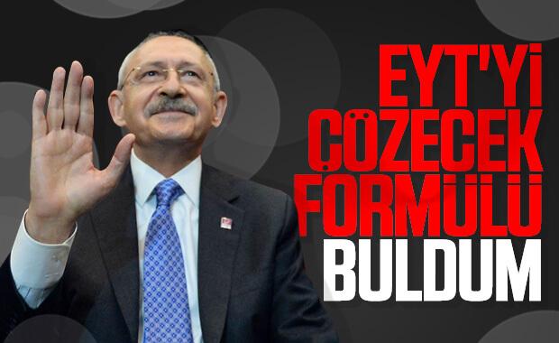 Kemal Kılıçdaroğlu'nun EYT çözümü