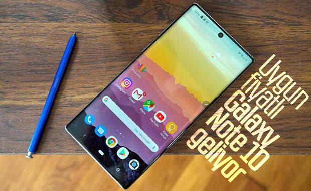Samsung Galaxy Note 10 Lite'ın bazı özellikleri belli oldu