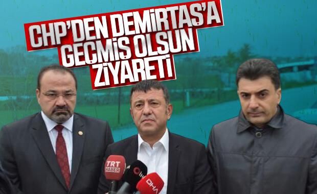CHP'li milletvekilleri Demirtaş'ı cezaevinde ziyaret etti
