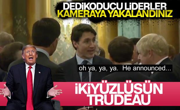 Trump'tan Kanada Başkanı Trudeau'ya: İkiyüzlü