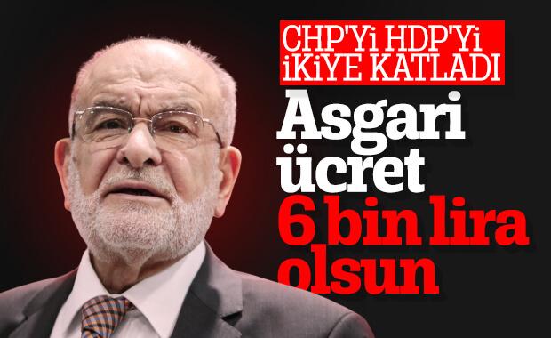 Temel Karamollaoğlu'nun istediği asgari ücret miktarı