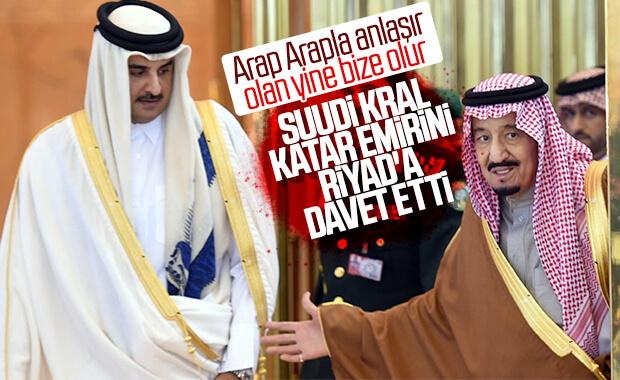 Kral Selman, Katar Emiri'ni KİK Zirvesi'ne davet etti