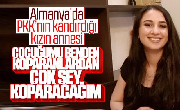 Almanya'da yaşayan anne, PKK'nın kaçırdığı kızını arıyor