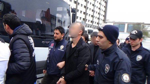 Sarallar operasyonunda 8 kişi tutuklandı