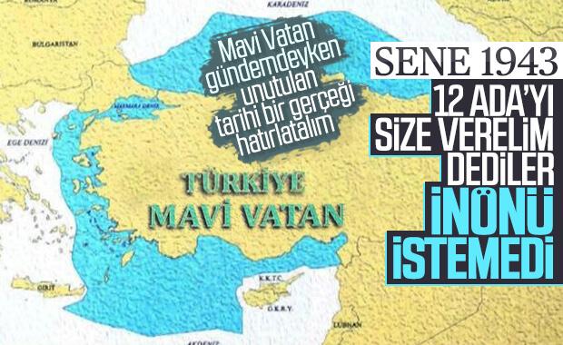 12 Ada'nın Türkiye tarafından reddedildiği dönem