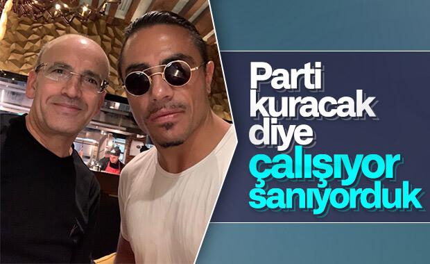Mehmet Şimşek ile Nusret selfie yaptı