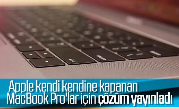 Apple, bazı MacBook Pro'ların aniden kapandığını kabul etti