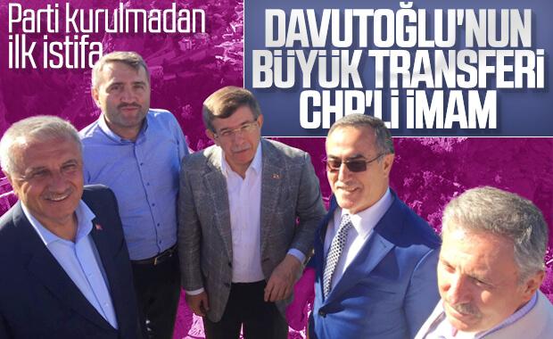 İhsan Özkes, Davutoğlu'nun parti girişiminden ayrıldı
