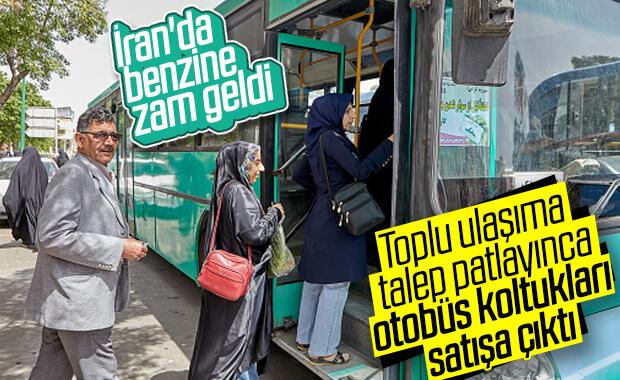 İran'da yolculara otobüs koltukları satılacak