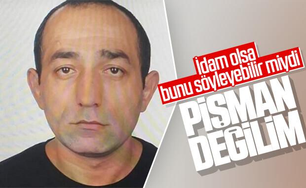 Ceren Özdemir'in katili pişman değil