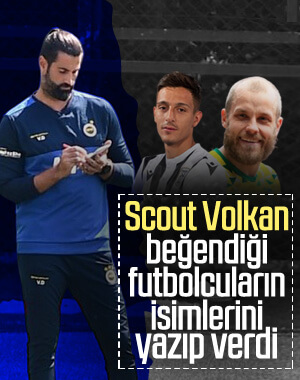 Volkan Demirel'in transfer raporu
