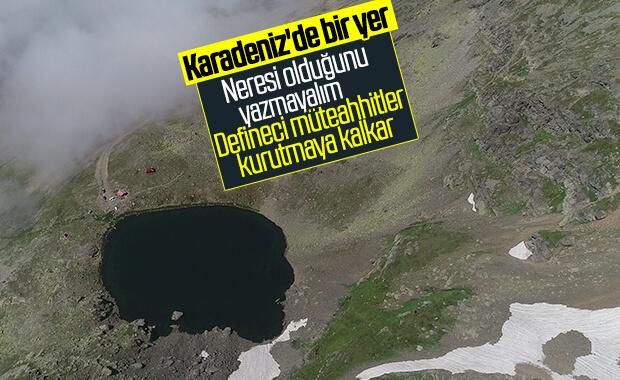 Karadeniz'in doğal güzelliği buzul göller