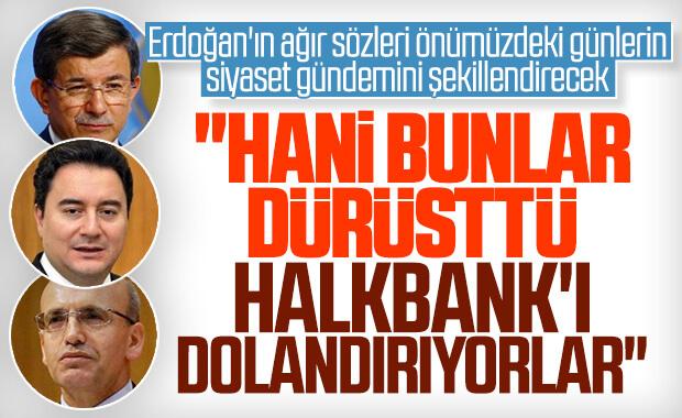 Cumhurbaşkanı Erdoğan: Siz dürüstseniz bu ülke batmış